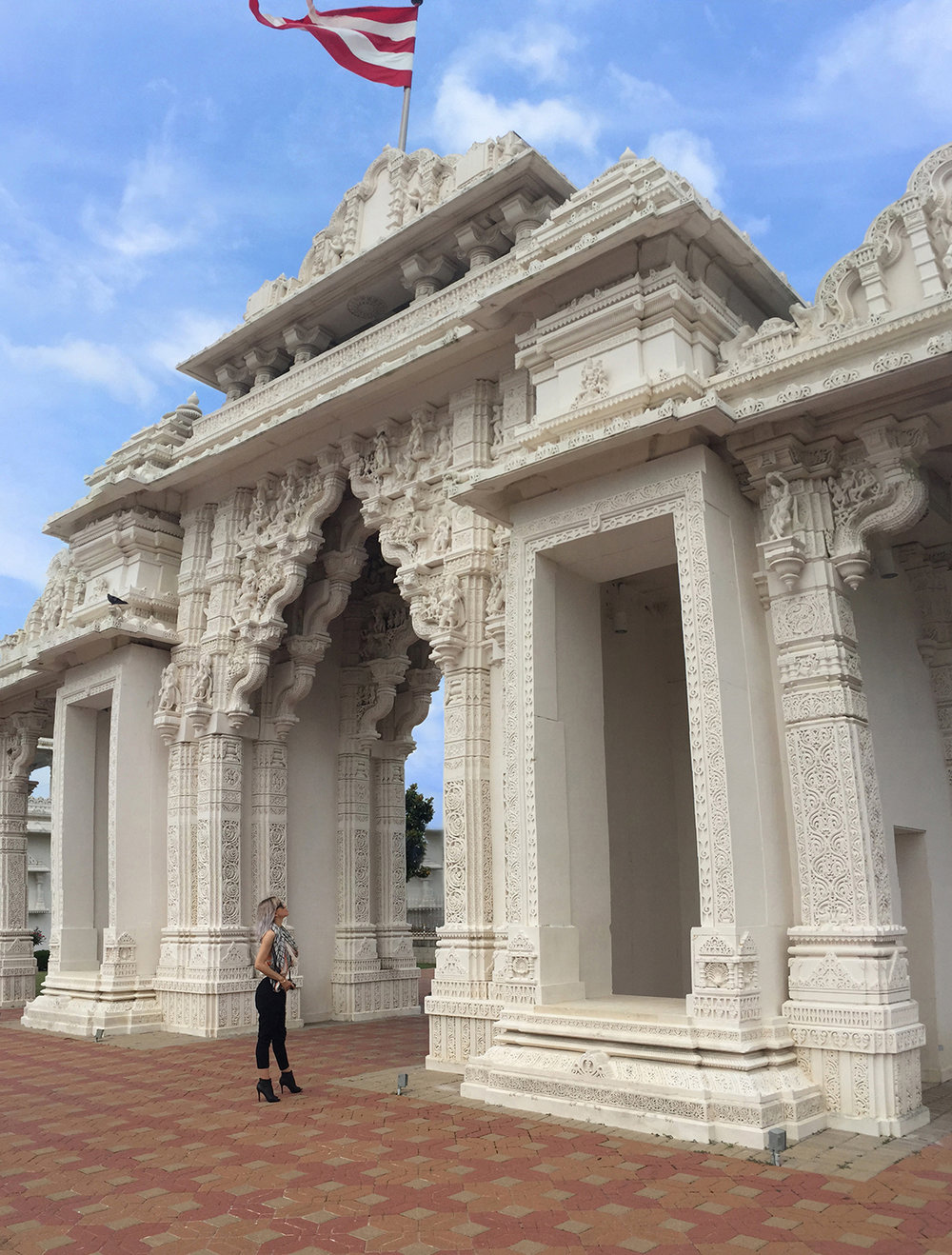 Indian Temple in Houston