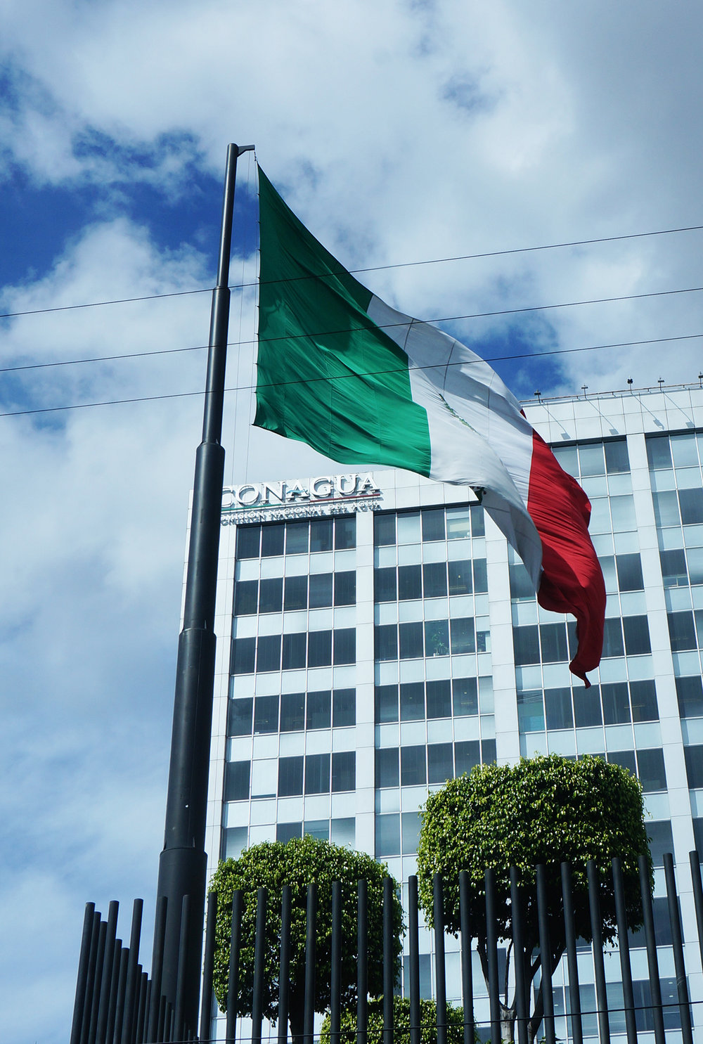Giant Mexican flag