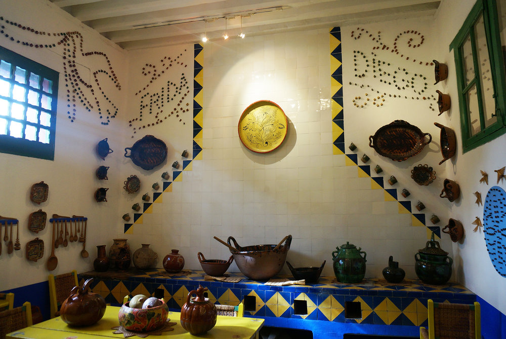 Cocina de Frida Kahlo y Diego Rivera