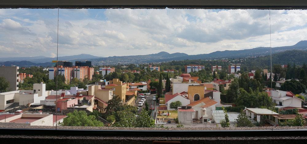 Vista desde el Radisson Pedregal
