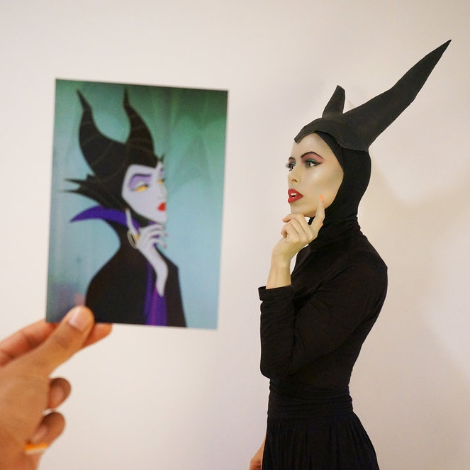 Maleficent Transformation -