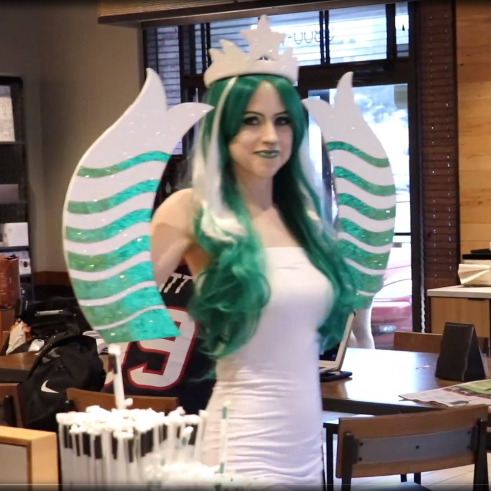 Starbucks Mermaid Costume -