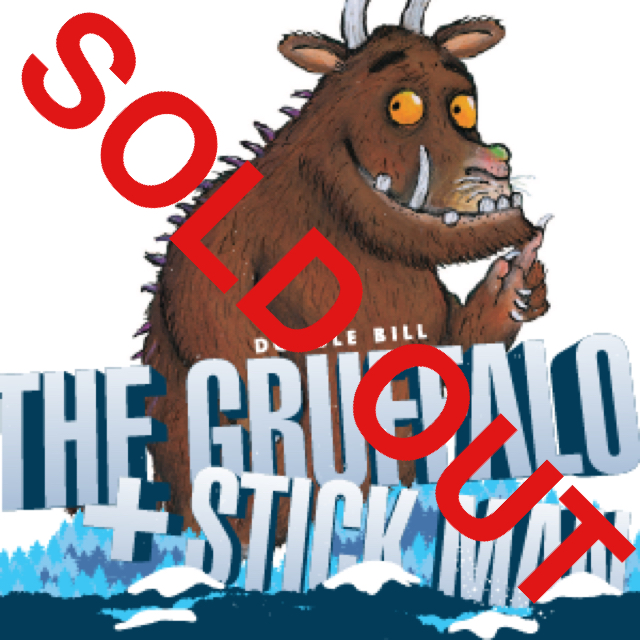 The Gruffalo & Stick Man (double bill) 10.45 (1hr12mins) SOLD OUT Rated U