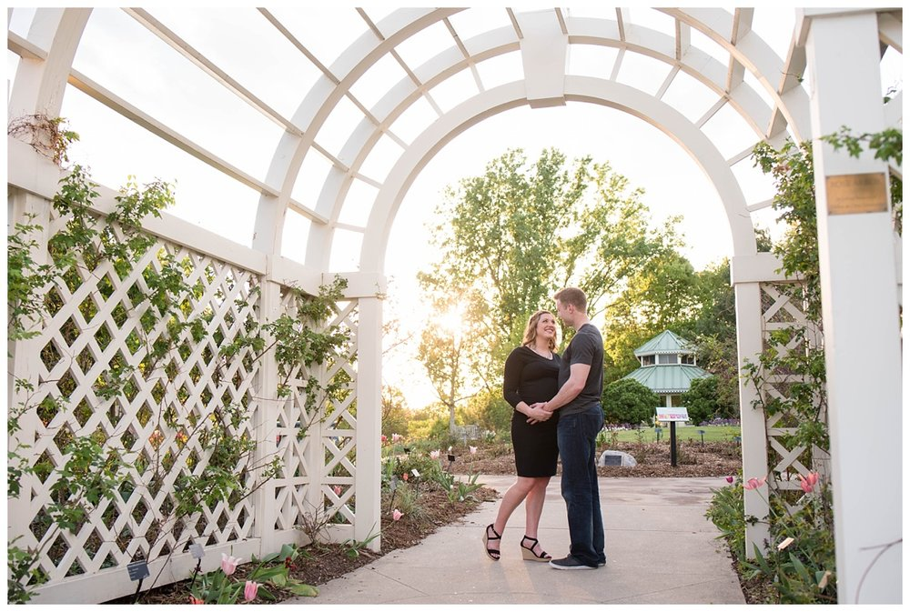 Green Bay Botanical Gardens Sunset Maternity Session_0001.jpg