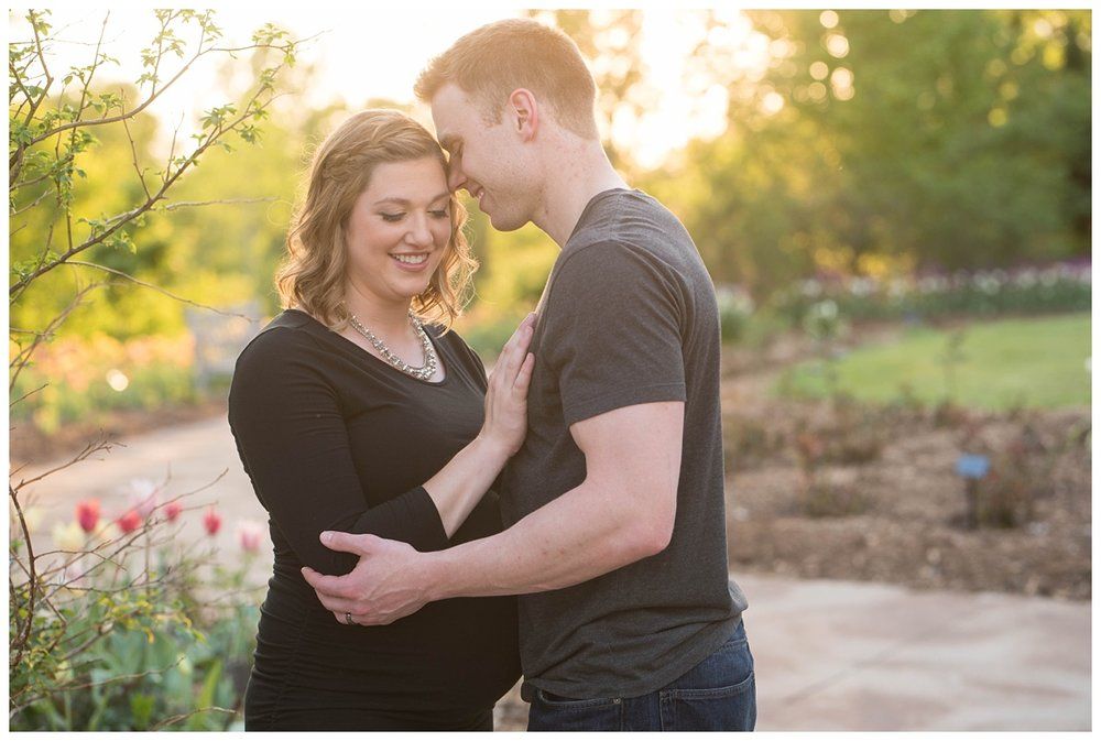 Green Bay Botanical Gardens Sunset Maternity Session_0002.jpg