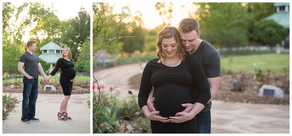 Green Bay Botanical Gardens Sunset Maternity Session_0003.jpg