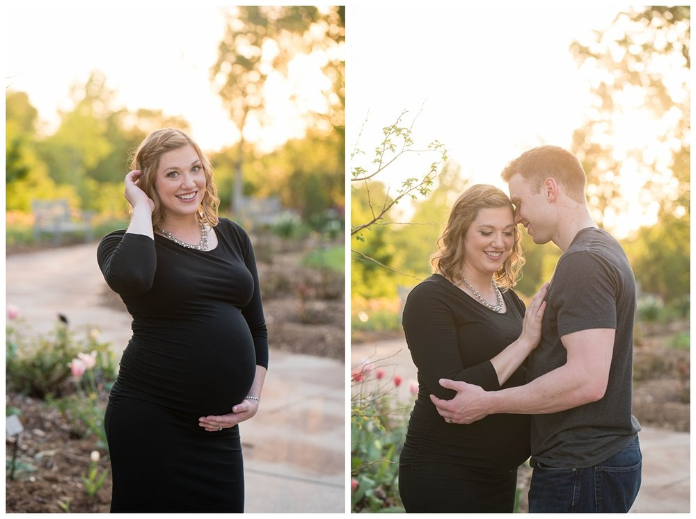 Green Bay Botanical Gardens Sunset Maternity Session_0007.jpg