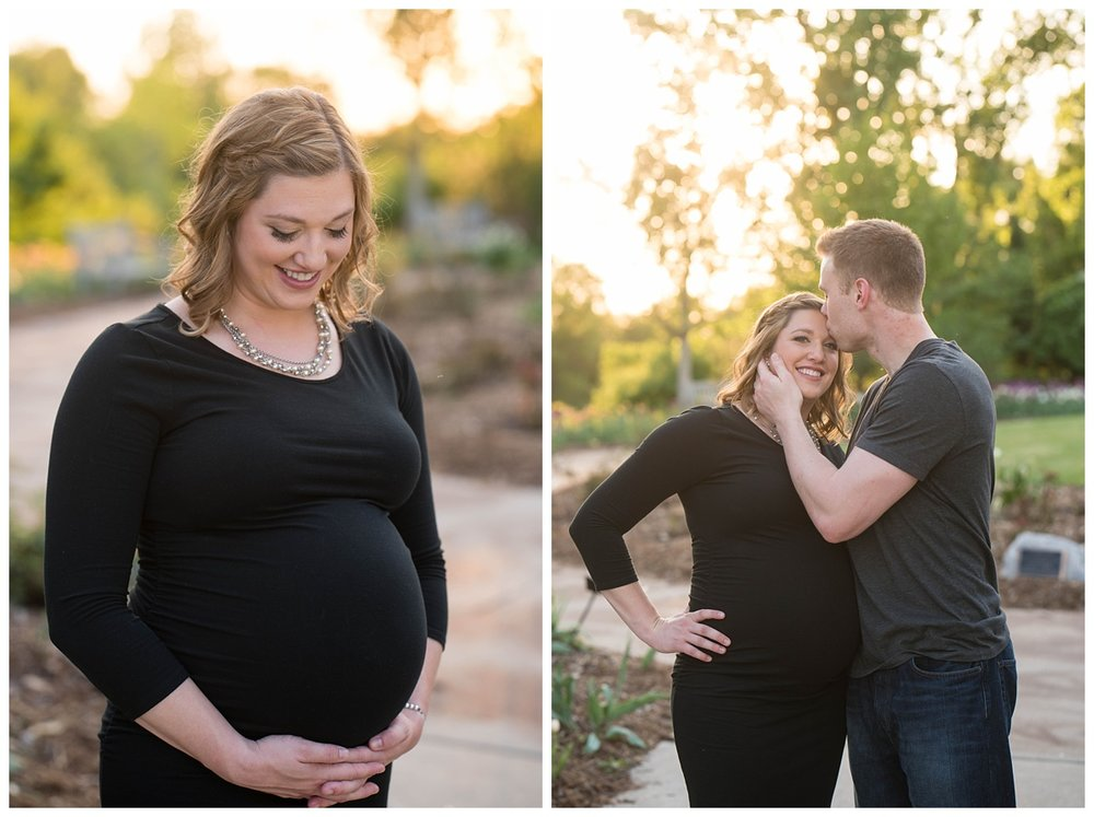Green Bay Botanical Gardens Sunset Maternity Session_0008.jpg