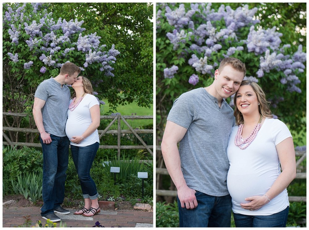 Green Bay Botanical Gardens Sunset Maternity Session_0010.jpg