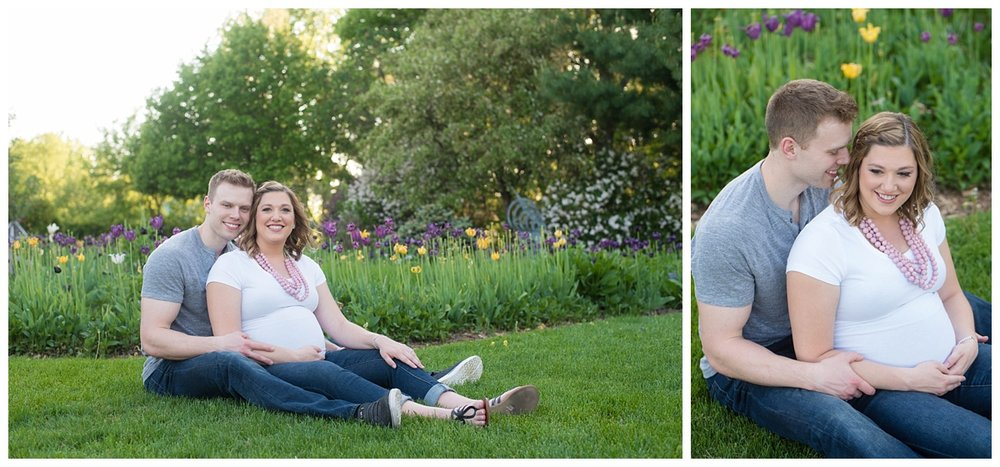 Green Bay Botanical Gardens Sunset Maternity Session_0016.jpg