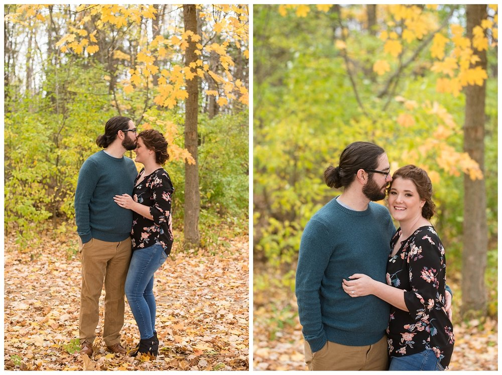 Green Bay, WI Fall Engagement Session_0009.jpg