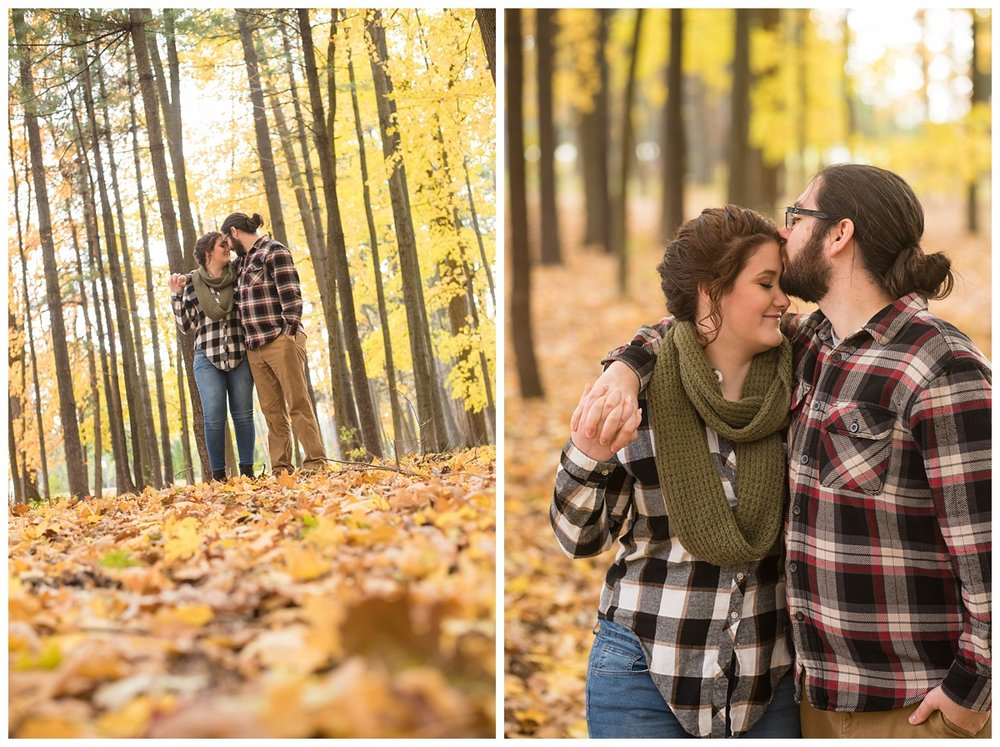 Green Bay, WI Fall Engagement Session_0021.jpg