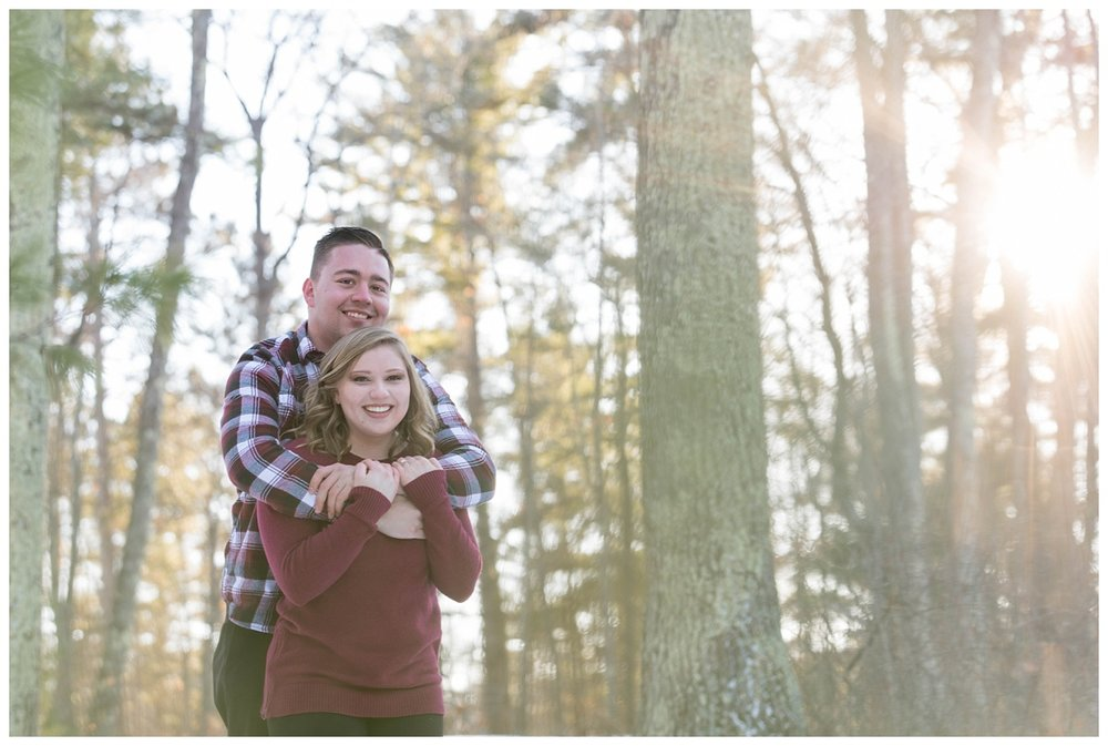 Iron Mountain, Michigan Cozy Cabin Winter Engagement Session_0011.jpg
