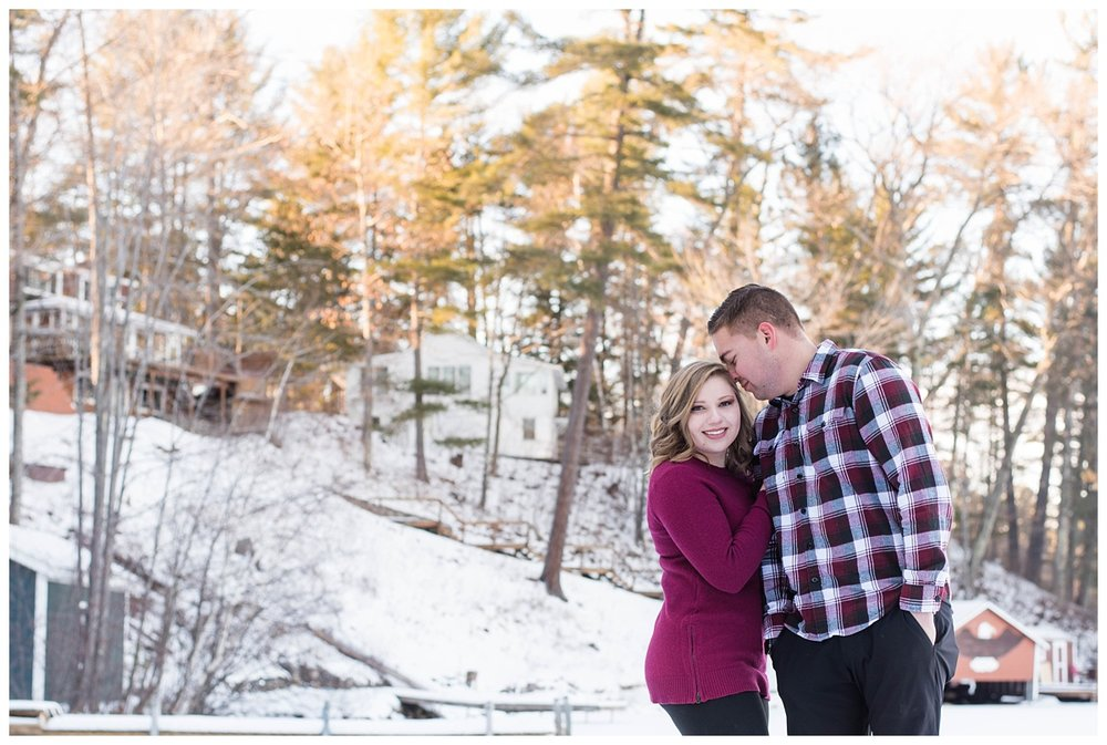 Iron Mountain, Michigan Cozy Cabin Winter Engagement Session_0017.jpg