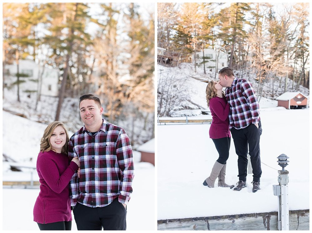 Iron Mountain, Michigan Cozy Cabin Winter Engagement Session_0018.jpg