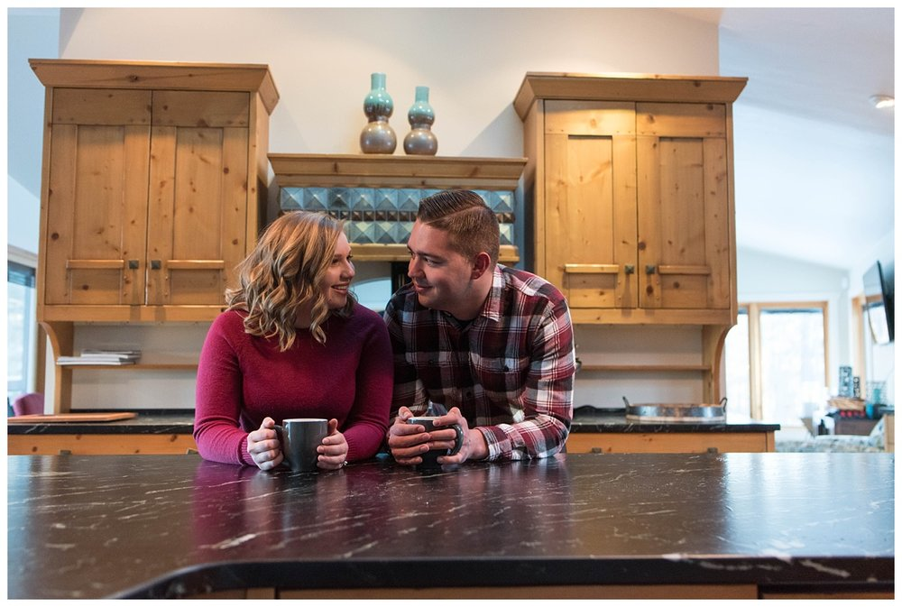 Iron Mountain, Michigan Cozy Cabin Winter Engagement Session_0037.jpg