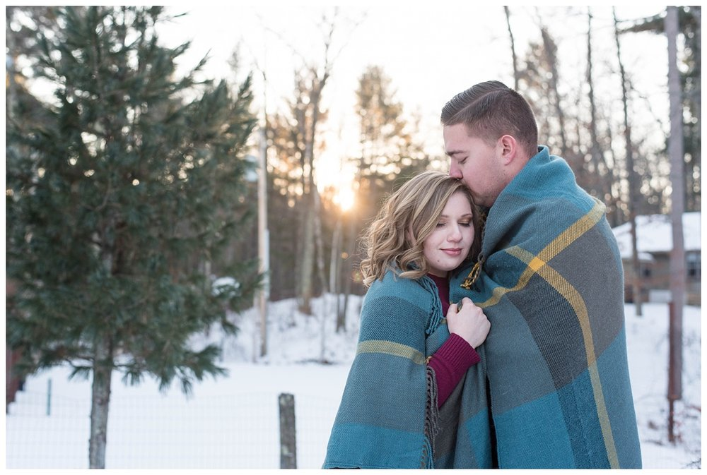 Iron Mountain, Michigan Cozy Cabin Winter Engagement Session_0039.jpg