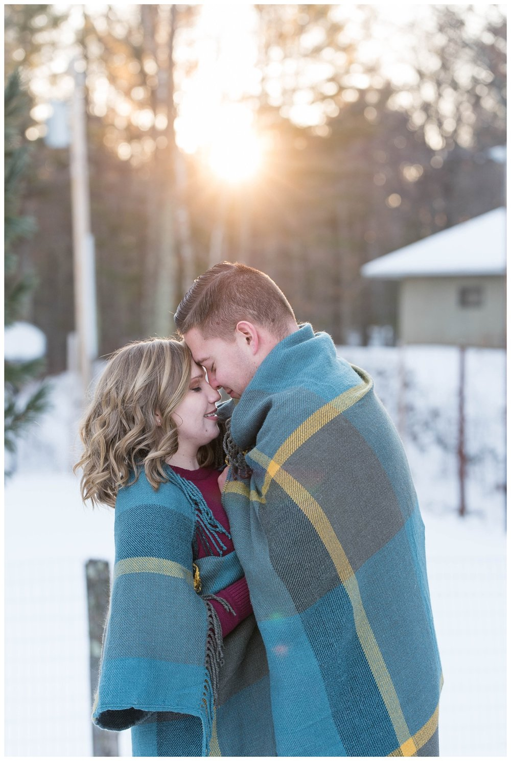 Iron Mountain, Michigan Cozy Cabin Winter Engagement Session_0038.jpg