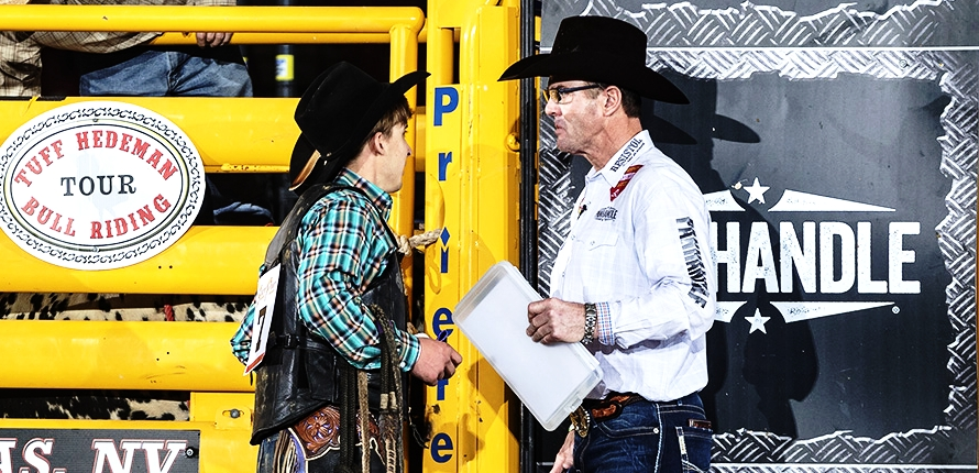 Koby Radley and Tuff Hedeman