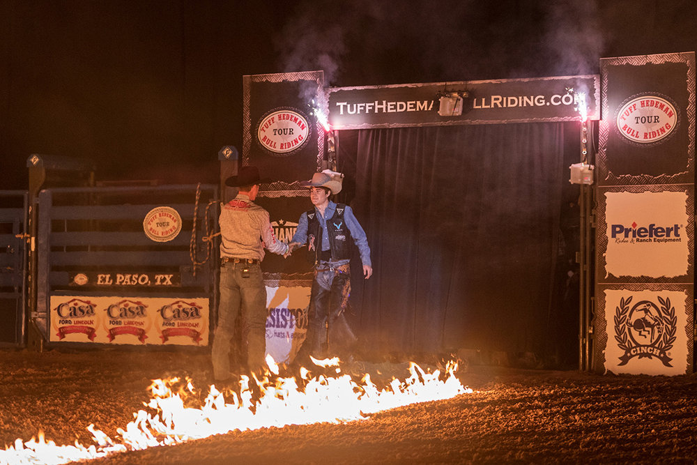 Tuff Hedeman Welcomes Brett Custer to the tour. Custer is the son of 1992 PRCA World Cham Cody Custer.