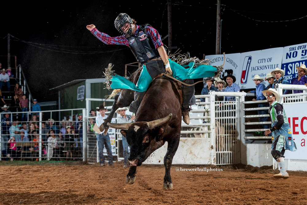 Lane Toon scores 88.5 in the championship round on 33 Tamale from Harris Bucking Bulls