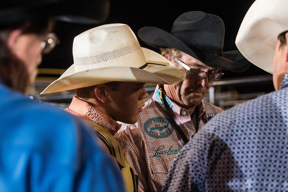 Campbell discusses Shoot Out round opportunities with Tuff Hedeman.