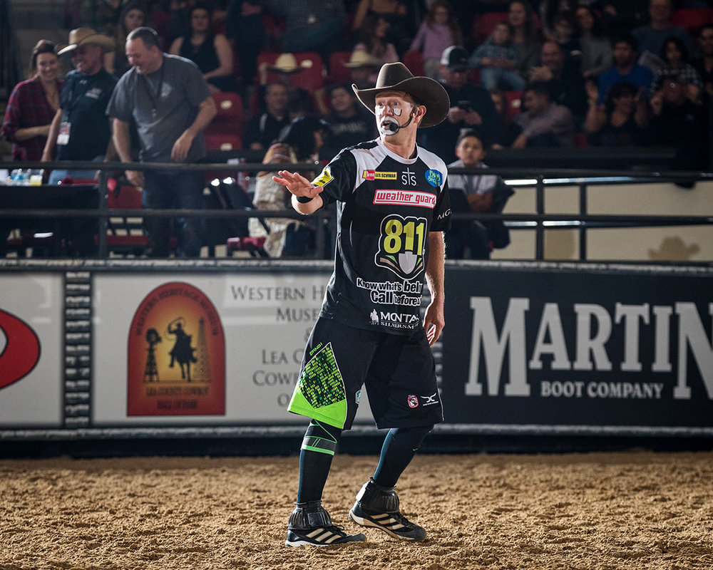 Famed Rodeo Entertainer JJ Harrison Returns to Hobbs  with Tuff Hedeman