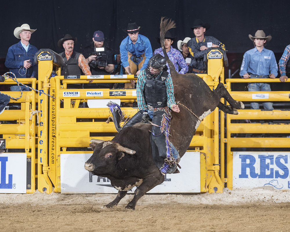 Louisiana bull rider and NFR qualifier Koby Radley who grew up in Louisiana hopes Bossier will be a hometown advantage in Bossier. Radley finished 2018 10th in the PRCA World Standings..