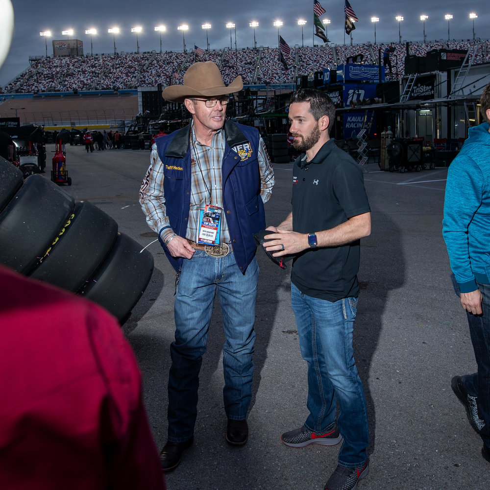 Jeremy Clements Racing to partner with Western Wishes and Tuff Hedeman to ride the  RepairableVehicles.com  #51 machine to the front at Texas Motor Speedway.