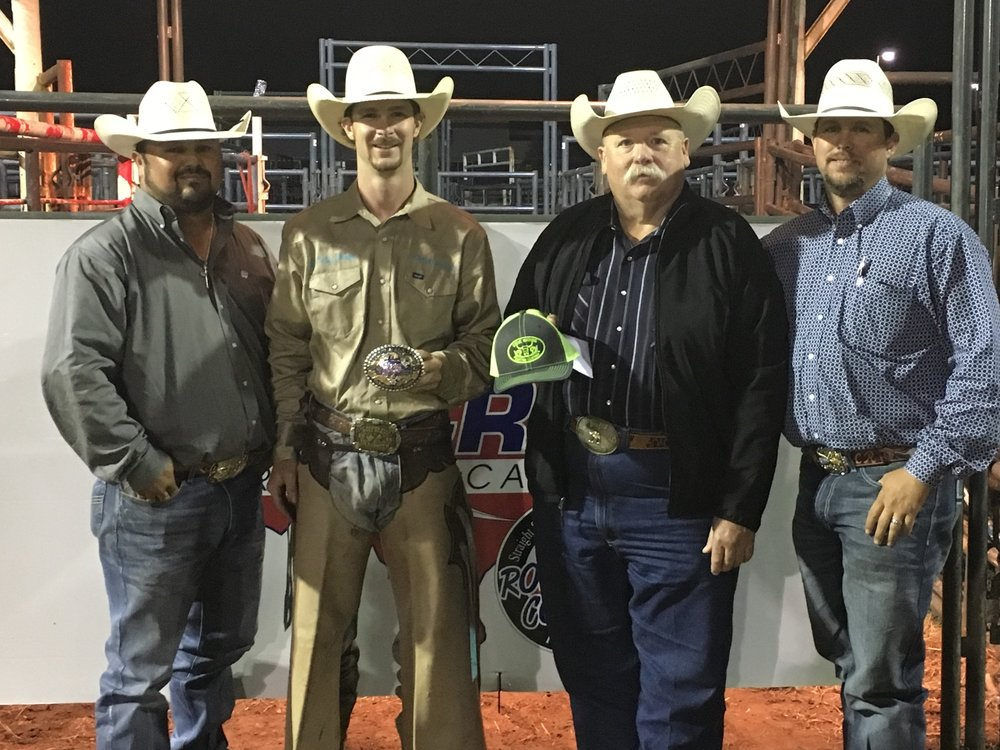 2018 Baytown bull riding champion John Pitts is currently competing in the PRCA, Tuff Hedeman Bull Riding Tour and the PBR.