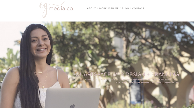 Five Template: How to add a background color to your text on a single header by EG Media Co