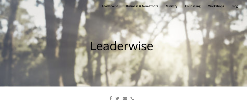 LeaderWiseHome