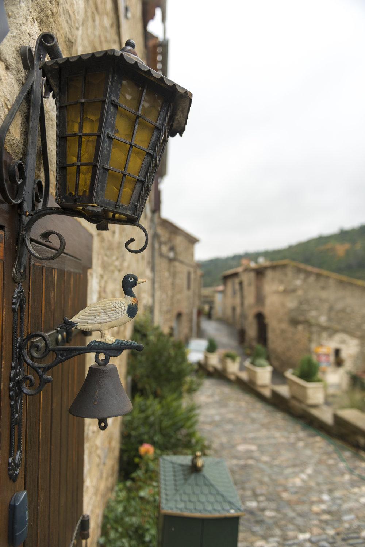 The medieval hamlet of Minerve