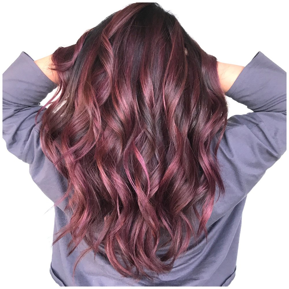 Fantasy color, pink violet