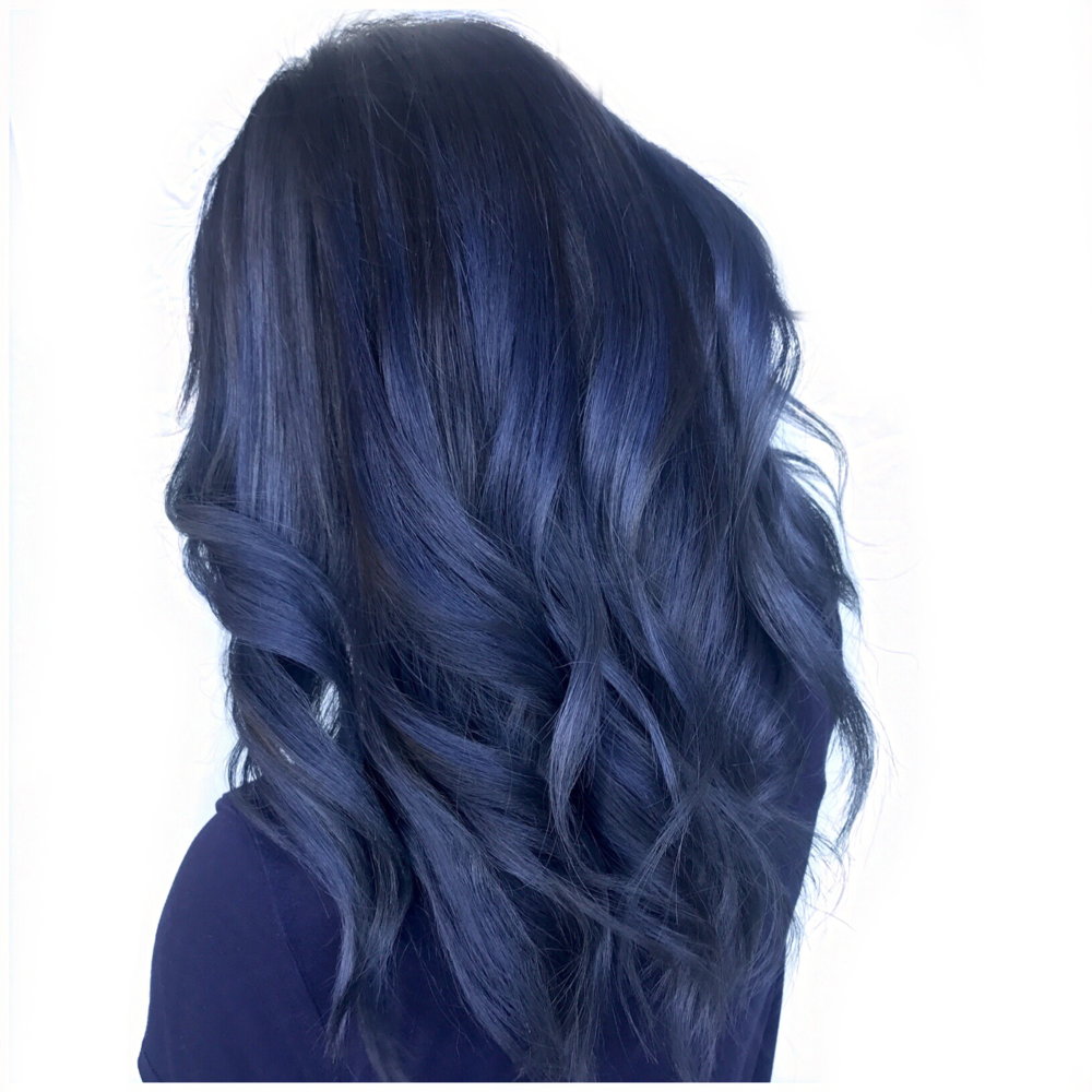 Fantasy color, smoky blue