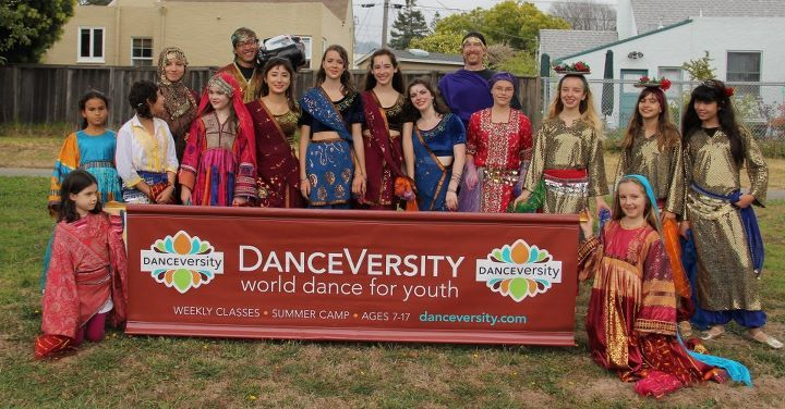 DanceVersity  - No. African Moroccan & Afghan DancePeople's Park Intermission PerformancesSaturday, between 2 & 2:30 pmDANCEVERSITY has been creating an immersive cultural experience for kids through world dance since 2005! Hannah Romanowsky, Founder & faculty will be presenting a Moroccan & Persian dance and Samia Karimi, Program Manager & faculty will be presenting a traditional dance from Afghanistan.  DanceVersity offers a summer camp at Ashkenaz, Berkeley every August as well as year-round classes & workshops for youth