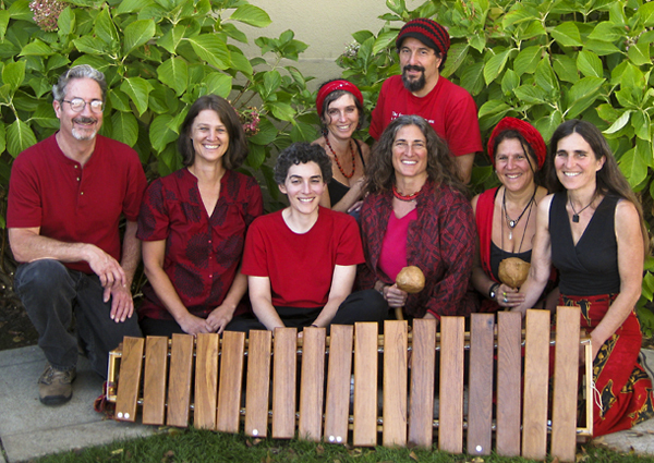 Sadza Marimba  - with special guest Julia Chigamba!Zimbabwean Dance Music  Outside of Plentea: Sunday, Noon - 2:00 pm+2430 Durant AveSadza has been bringing audiences in California to their feet with the danceable, joyful rhythms of Zimbabwe since 2000. The band consists of a blend of soprano, alto, tenor, baritone and bass marimbas, drums, gourd shakers and vocals. This African-style upbeat music delights and excites our audiences and appeals to listeners of all ages!