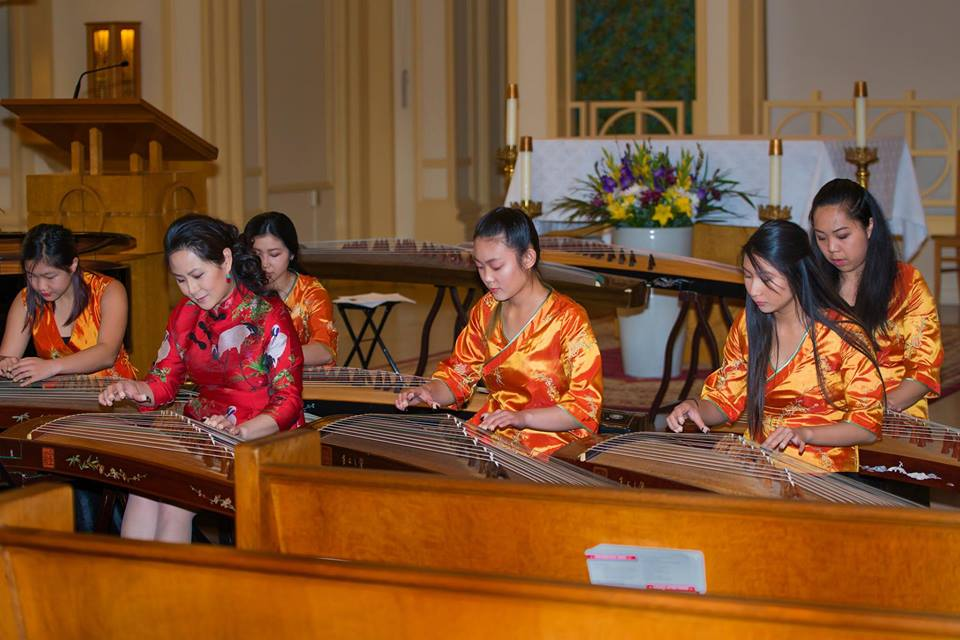 China's Spirit Music Ensemble - Guzheng Zithers Raleighs: Sunday, 1:00-2:00 pm2438 Telegraph AveChina's Spirit Music Ensemble (CSME) was founded in 2003 and directed by Wei Hou, Chinese wind instrumentalist, & Winnie Wong, guzheng soloist. Though provided their knowledge and experiences from different parts of the world, they share the same drive & passion in their culture & music. Their dream is to share and promote cultural experiences through performing arts, give back to the community & share with the world what they are so fortunately humbled with - their love & passion for music.