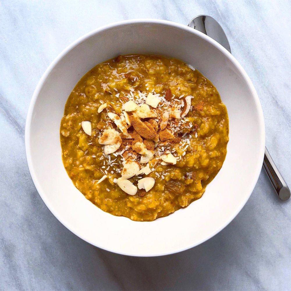 Pumpkin + Chai Oats