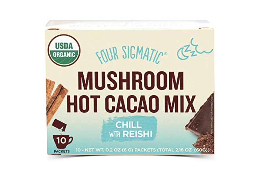 Four Sigmatic Hot Cacao    I've written before about this product on the blog (and talked about it even more on insta 😂). It is  the best.  It's part of my almost nightly ritual, I have a cup about an hour before bed with hot water and a splash of almond milk. The reishi is calming and helps me relax, and the flavor is totally customizable as far as what you decide to do with your hot water:milk ratio. Five stars, ten stars, a million stars! Order this - you won't regret it.