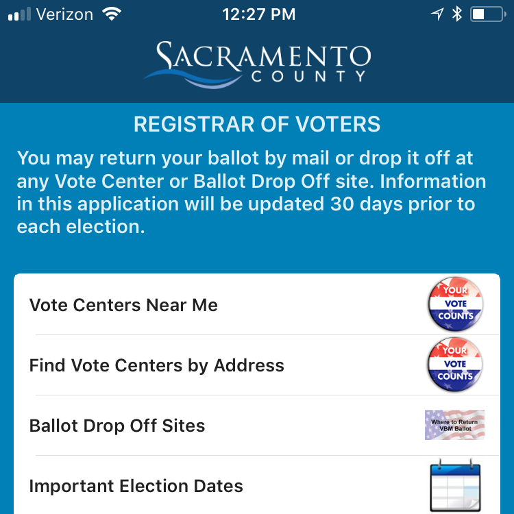 ballot drop off near me