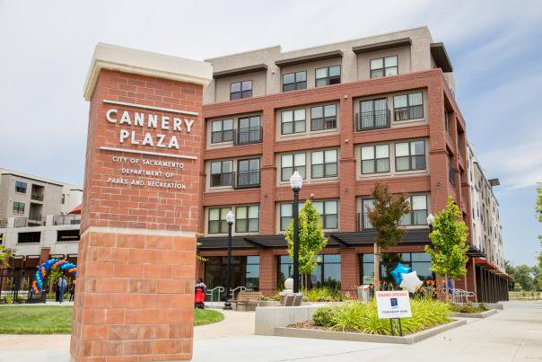 The Cannery Place affordable housing complex opened in 2015 in Sacramento's River District.