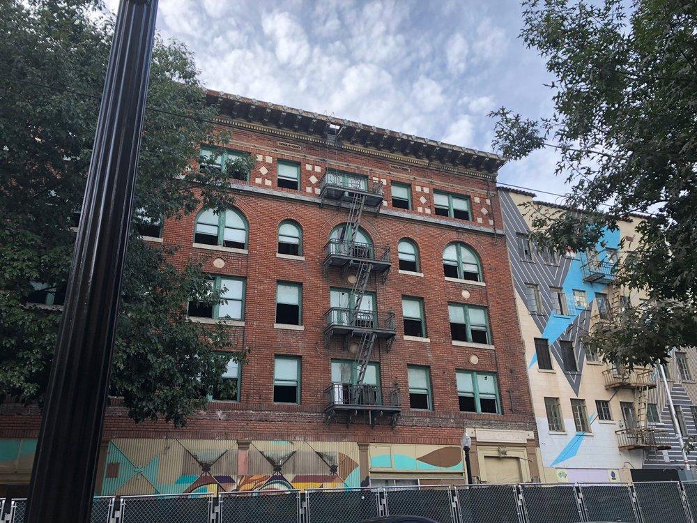 Former Marshall Hotel