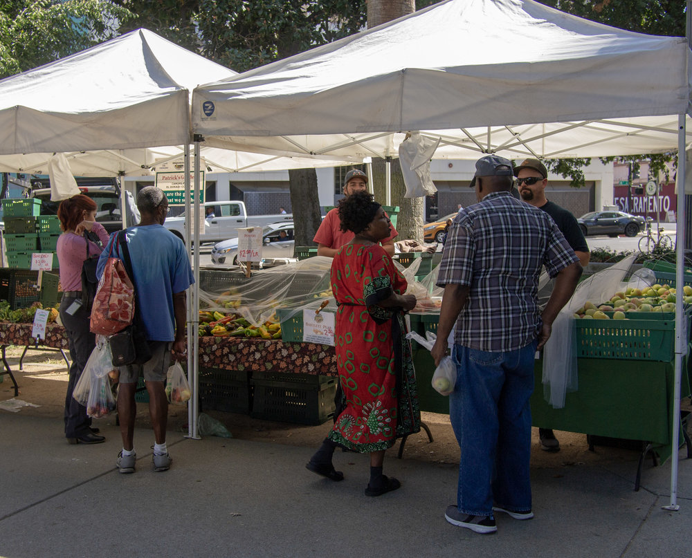 Wednesday Farmer's Market Cesar Chavez Plaza