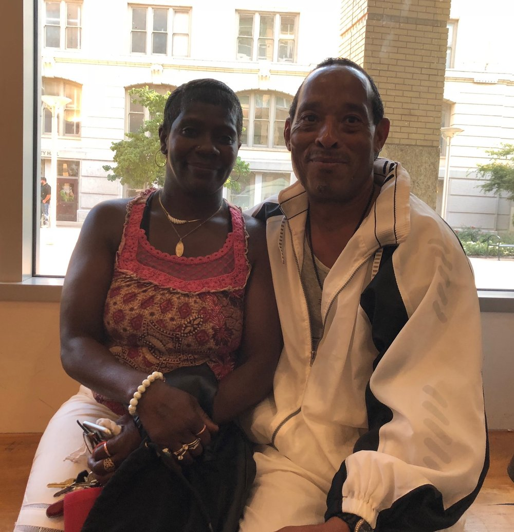 Ramona Jasper and Anthony Moss had been homeless for years but were placed in a house after going through the City's Triage Shelter and enrolling in its Whole Person Care program.