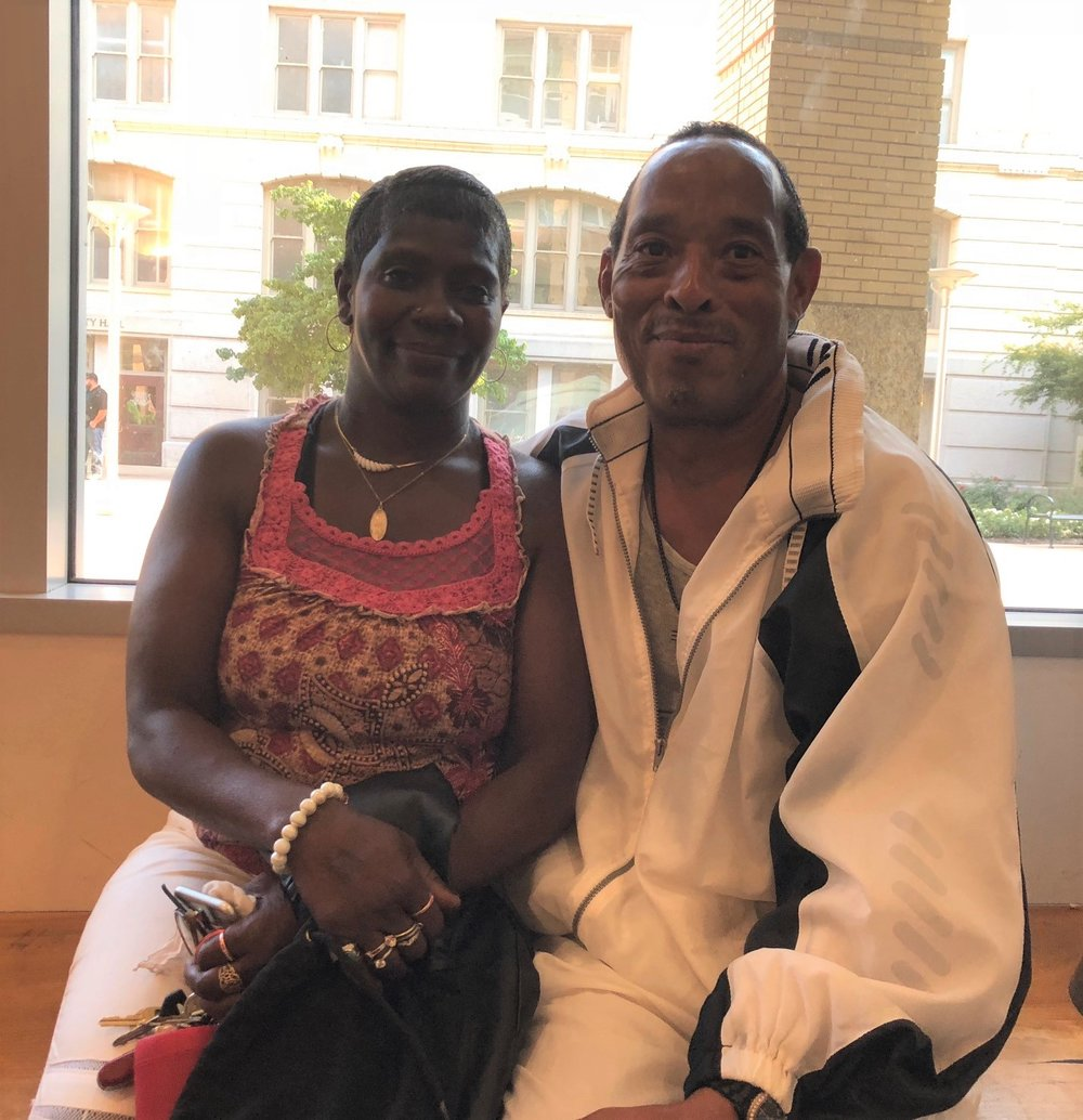 Ramona Jasper and Anthony Moss were living in a homeless camp in north Sacramento when they entered the City's Triage Shelter and enrolled in its Pathways program. From there, they moved into their own house in south Sacramento. It was the first time in 25 years that Jasper had not been homeless.