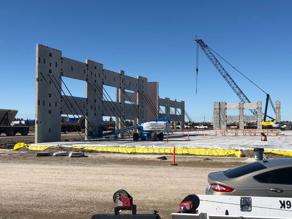 Centene's campus will eventually have five buildings with a child care facility, dining room, fitness center, clinic and pharmacy.