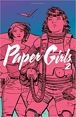 "Writer Brian K. Vaughan and artist Cliff Chiang have described their collaboration on the comic book series ""Paper Girls"" as ""Stand by Me"" meets ""War of the Worlds."""