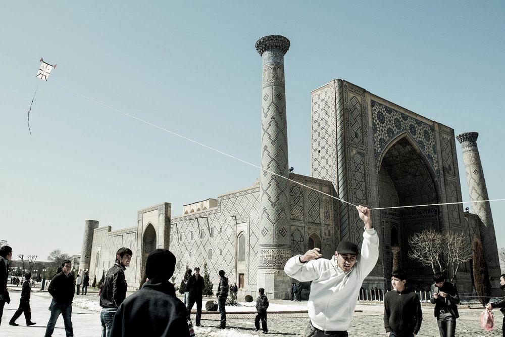 Nowruz festivities, Samarkand