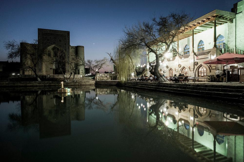 Sunset at Bukhara, Uzbekistan